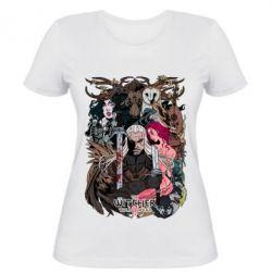Купить Женская футболка Ведьмак 1, FatLine