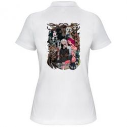 Купить Женская футболка поло Ведьмак 1, FatLine