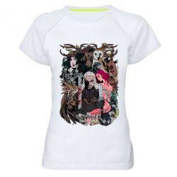 Купить Женская спортивная футболка Ведьмак 1, FatLine