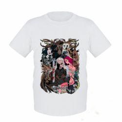 Купить Детская футболка Ведьмак 1, FatLine