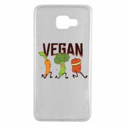 Чохол для Samsung A7 2016 Веган овочі
