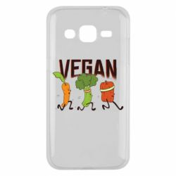 Чохол для Samsung J2 2015 Веган овочі