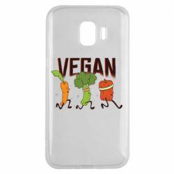 Чохол для Samsung J2 2018 Веган овочі