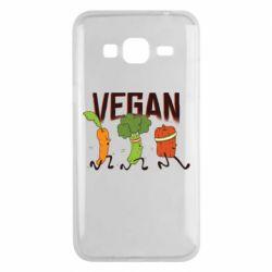 Чохол для Samsung J3 2016 Веган овочі