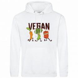 Чоловіча толстовка Веган овочі