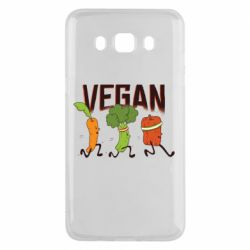 Чохол для Samsung J5 2016 Веган овочі