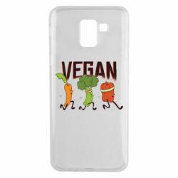 Чохол для Samsung J6 Веган овочі