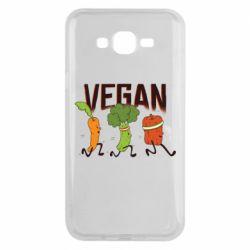 Чохол для Samsung J7 2015 Веган овочі