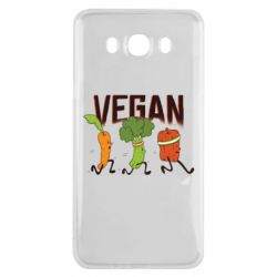Чохол для Samsung J7 2016 Веган овочі