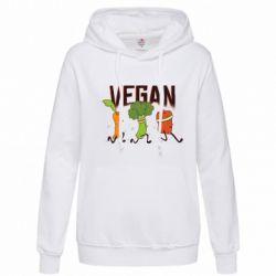 Толстовка жіноча Веган овочі