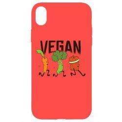 Чохол для iPhone XR Веган овочі