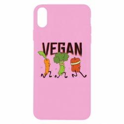 Чохол для iPhone Xs Max Веган овочі