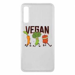 Чохол для Samsung A7 2018 Веган овочі