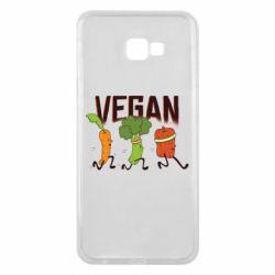 Чохол для Samsung J4 Plus 2018 Веган овочі
