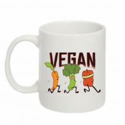 Кружка 320ml Веган овочі