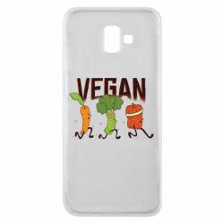 Чохол для Samsung J6 Plus 2018 Веган овочі