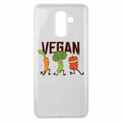 Чохол для Samsung J8 2018 Веган овочі