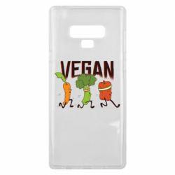 Чохол для Samsung Note 9 Веган овочі