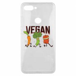 Чохол для Xiaomi Mi8 Lite Веган овочі
