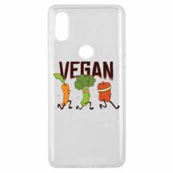 Чохол для Xiaomi Mi Mix 3 Веган овочі