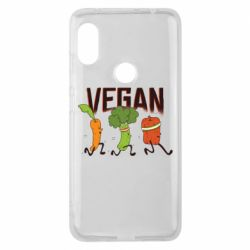 Чохол для Xiaomi Redmi Note Pro 6 Веган овочі