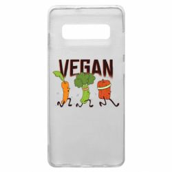 Чохол для Samsung S10+ Веган овочі