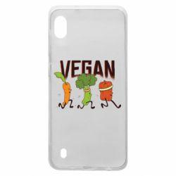 Чохол для Samsung A10 Веган овочі