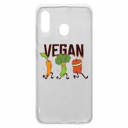 Чохол для Samsung A20 Веган овочі