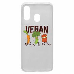Чохол для Samsung A40 Веган овочі