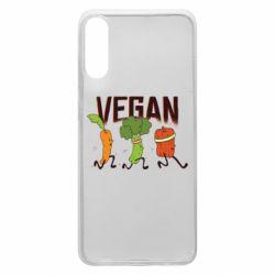 Чохол для Samsung A70 Веган овочі