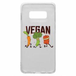 Чохол для Samsung S10e Веган овочі
