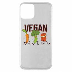 Чохол для iPhone 11 Веган овочі