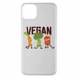 Чохол для iPhone 11 Pro Max Веган овочі