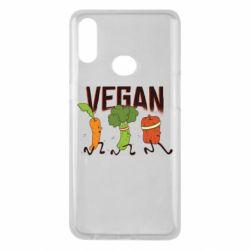 Чохол для Samsung A10s Веган овочі