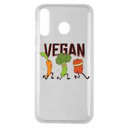 Чохол для Samsung M30 Веган овочі