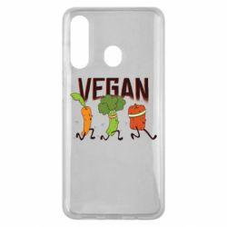 Чохол для Samsung M40 Веган овочі