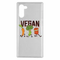 Чохол для Samsung Note 10 Веган овочі