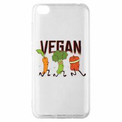 Чохол для Xiaomi Redmi Go Веган овочі