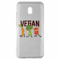 Чехол для Xiaomi Redmi 8A Веган овощи