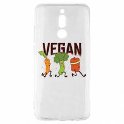 Чехол для Xiaomi Redmi 8 Веган овощи
