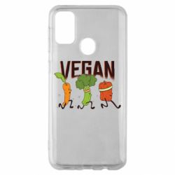 Чохол для Samsung M30s Веган овочі