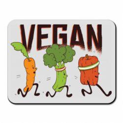 Килимок для миші Веган овочі
