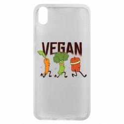 Чехол для Xiaomi Redmi 7A Веган овощи