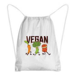 Рюкзак-мішок Веган овочі