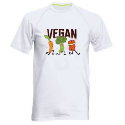 Чоловіча спортивна футболка Веган овочі