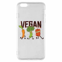 Чохол для iPhone 6 Plus/6S Plus Веган овочі