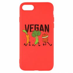 Чохол для iPhone 7 Веган овочі