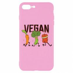 Чохол для iPhone 7 Plus Веган овочі