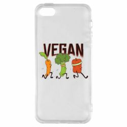 Чохол для iphone 5/5S/SE Веган овочі