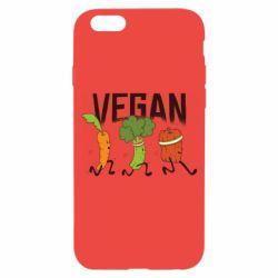 Чохол для iPhone 6/6S Веган овочі